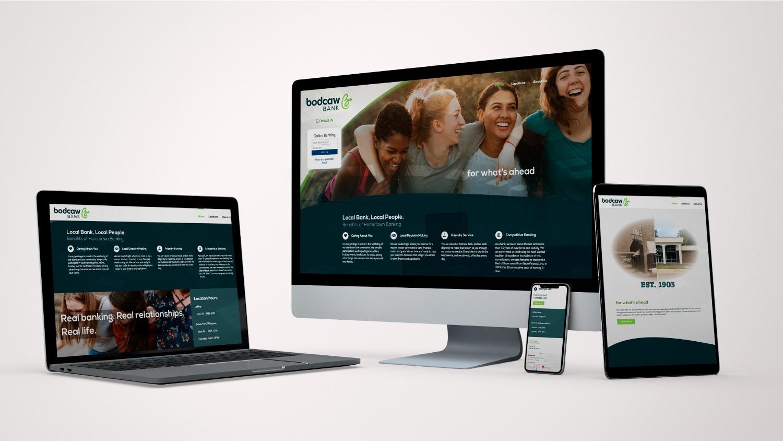 Bodcaw Bank Web mockup