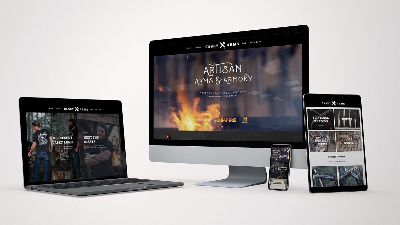 Casey Arms Website