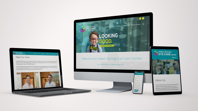 Heber Springs Eye Care Website
