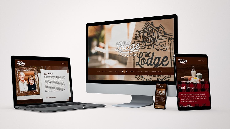 Lodge At Elm Springs Website