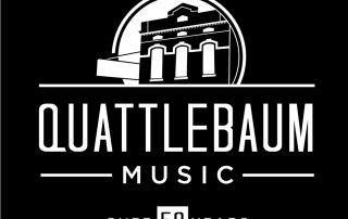 Quattlebaum Music 50 Year logo