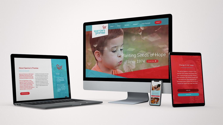 Sparrow's Promise Website