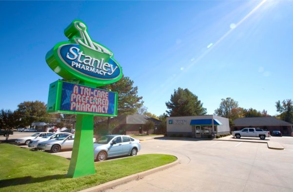 Stanley Pharmacy Sign