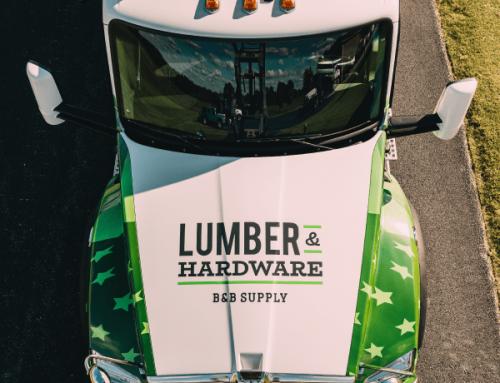 B&B Supply Truck Wrap